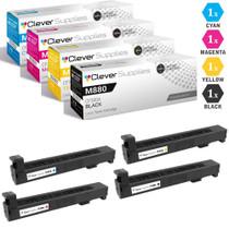 CS Compatible Replacement for HP M880 Toner Cartridges 4 Color Set (CF300A, CF301A, CF303A, CF302A)