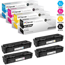 Works with: Color Laserjet M154a M181fw M180n M181 M154nw On-Site Laser Compatible Toner Replacement for HP CF510A Black 204A M180