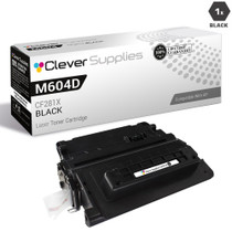 CS Compatible Replacement for HP M604dn Toner Cartridges Black (CF281X)