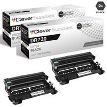 Compatible Brother DR720 Drum Unit 2 Black (DR-720)