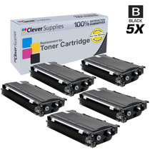 Compatible Brother TN330 Toner Cartridge 5 Black (TN-330)
