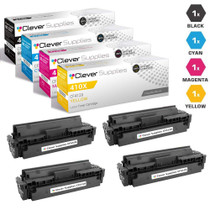 Compatible HP 410X Toner Cartridge 4 Color Set (CF410X, CF411X, CF413X, CF412X)