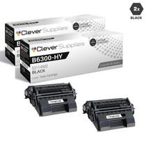 Compatible Okidata B6300 Toner Cartridge 2 Black (52114502)