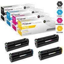 Compatible Samsung ProXpress C2620DW Toner Cartridge 4 Color Set (CLT-K505L, CLT-C505L, CLT-M505L, CLT-Y505L)