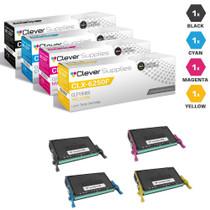 Compatible Samsung CLX-6250FX Toner Cartridge 4 Color Set (CLT-K508S, CLT-C508S, CLT-M508S, CLT-Y508S)