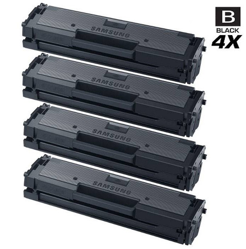 Compatible Samsung MLT-D111S Laser Toner Cartridge Black 4 Pack