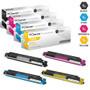 CS Compatible Replacement for HP 126A Toner Cartridge 4 Color Set (CE310A/ CE311A/ CE313A/ CE312A)