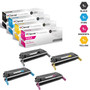 CS Compatible Replacement for HP 5550dtn Toner Cartridges 4 Color Set