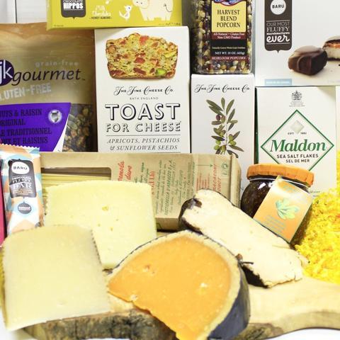 Custom Curated Cheese & Gourmet