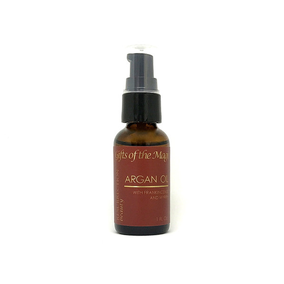 Gifts of the Magi, Organic Argan Oil with Frankincense and Myrrh, 1 oz.