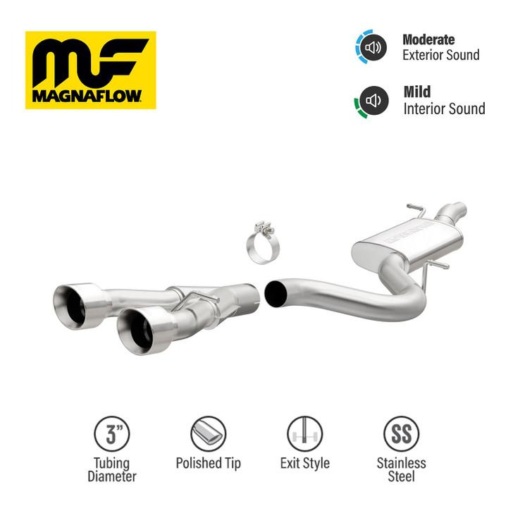 VW GOLF 2012-2014  Magnaflow Performance Cat-Back Exhaust 15156