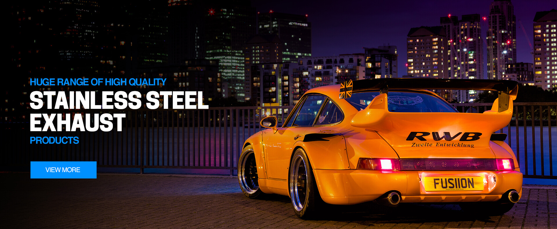 Huge Range of High Quality Stainless Steel Exhaust Products
