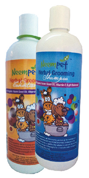 Luxurious all natural Herbal Grooming shampoo (with a hint of coconut) - Helps maintain a normal, healthy skin and coat. Use in conjunction with our Herbal Grooming conditioner for a glorious shine.