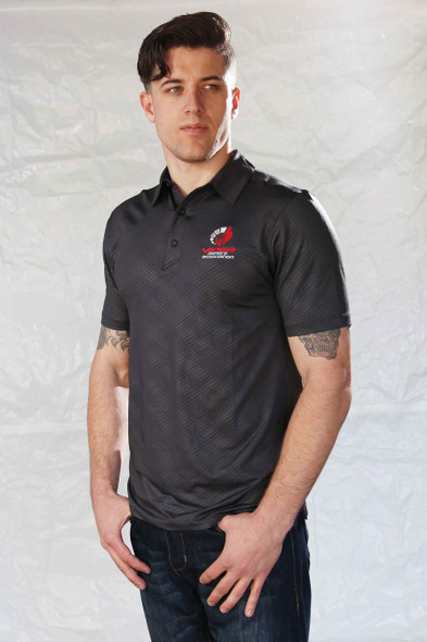 NEW CLASSIC CLUB BLACK SNAKESKIN POLO