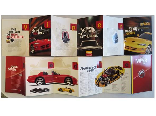 2002 Dodge Viper Brochure
