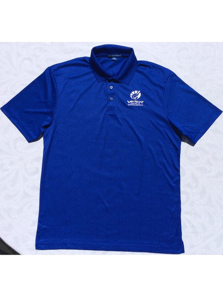 "Men's Viper Blue ""Car Color"" Polo"