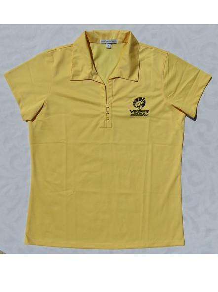 "Women's Viper Yellow ""Car Color"" Polo"