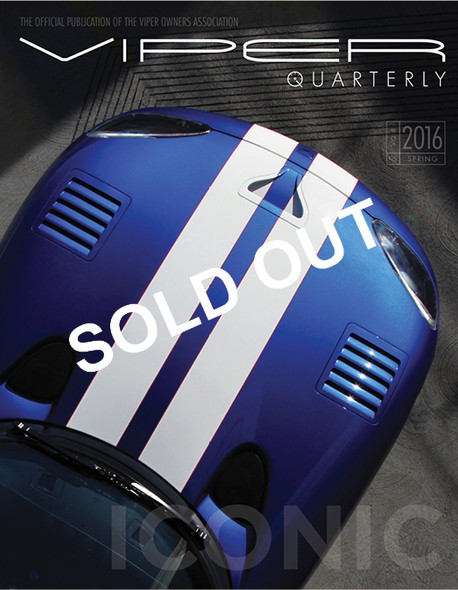 SOLD OUT! VIPER Quarterly 8