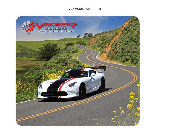 VIPER OWNERS ASSOCIATION MOUSE PAD