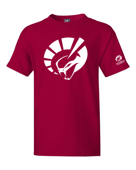 YOUTH SHORT SLEEVE TEE SHIRT IN RED
