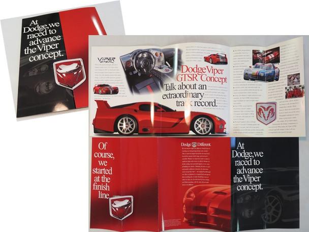 1999 GTSR Concept Brochure