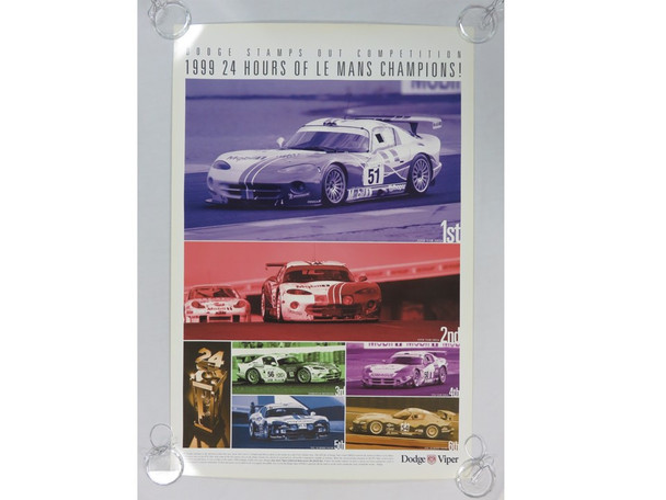 1999 Le Mans Victory Poster