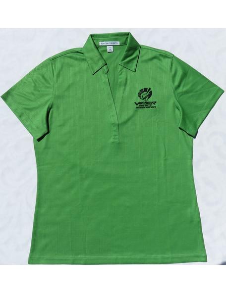 """Women's Viper Green """"Car Color"""" Polo"""