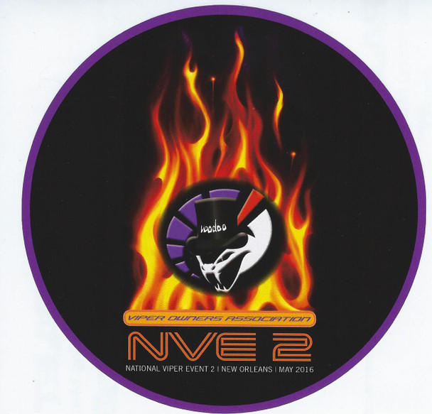 """NVE2 ROUND 5"""" DECAL"""