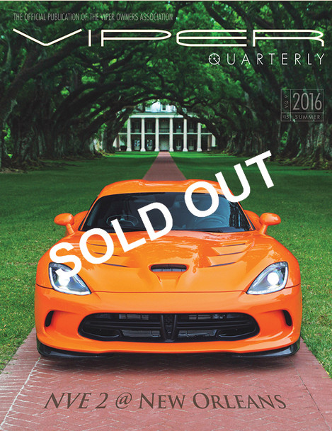 SOLD OUT! VIPER Quarterly 9