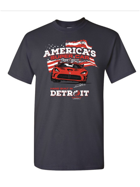 25th ANNIVERSARY (AMERICA'S SUPER CAR) TEE