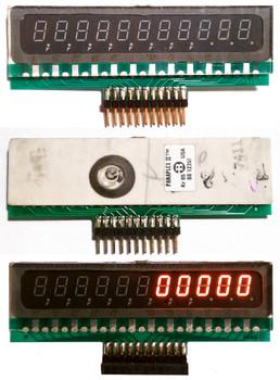 BR12261 Panaplex display with connector board