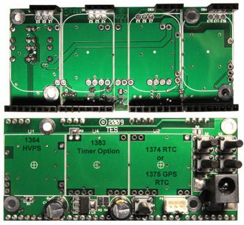 1389 - 4 digit IN12 SmartNixie Backplane