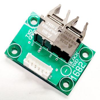 1682 Logic level fiber optic serial interface