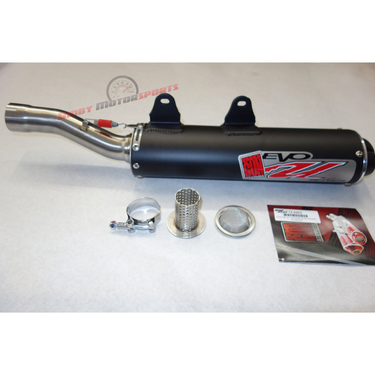 Big Gun Evo U Exhaust Slip-On Muffler CanAm Renegade 500 800 800r 800xxc  12-6902