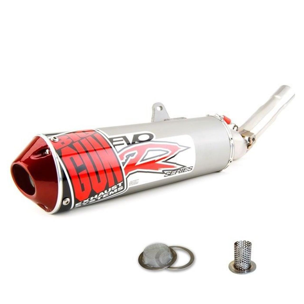 Big Gun Exhaust Evo R Slip-On Klx400R Klx400 Drz400s Drz 400s 400 09-5412