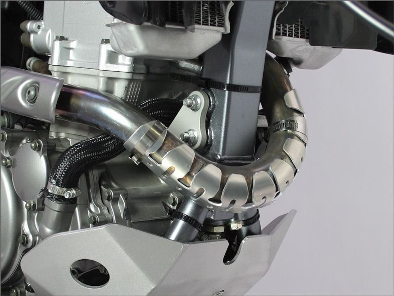 Atv 4 stroke exhaust