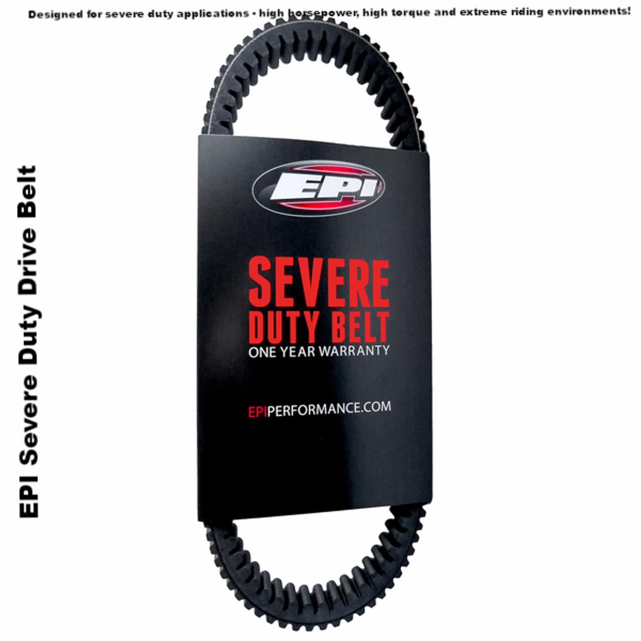 EPI Severe Duty Drive Belt Polaris Polaris Rzr Xp 1000 Turbo 2016 WE265028