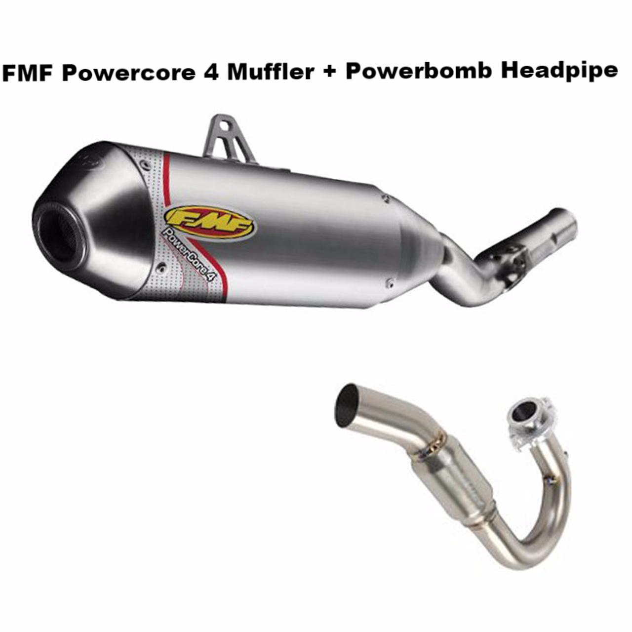 Fmf Full Exhaust Powercore 4 Powerbomb Header Suzuki Drz400sm Drz 400sm  05-19