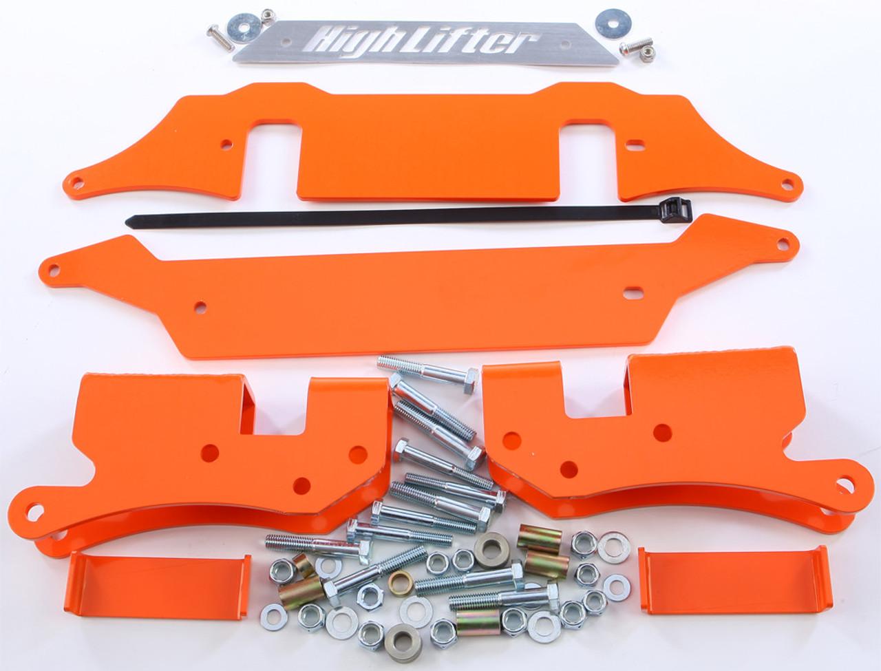 "3/""-5/""  Lift Kit Polaris RZR XP //4 1000 2015 2016 High Lifter Orange PLK1RZR-51-O"
