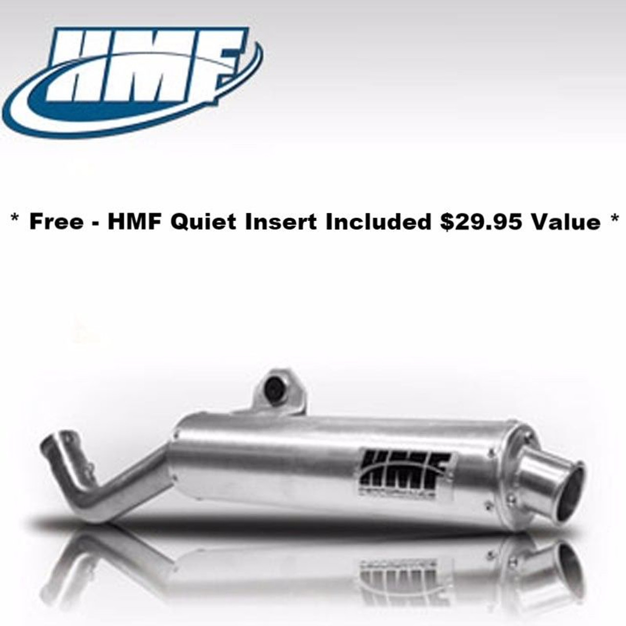 Hmf Performance Exhaust Muffler Slip On Yamaha Grizzly 600 1998 2001