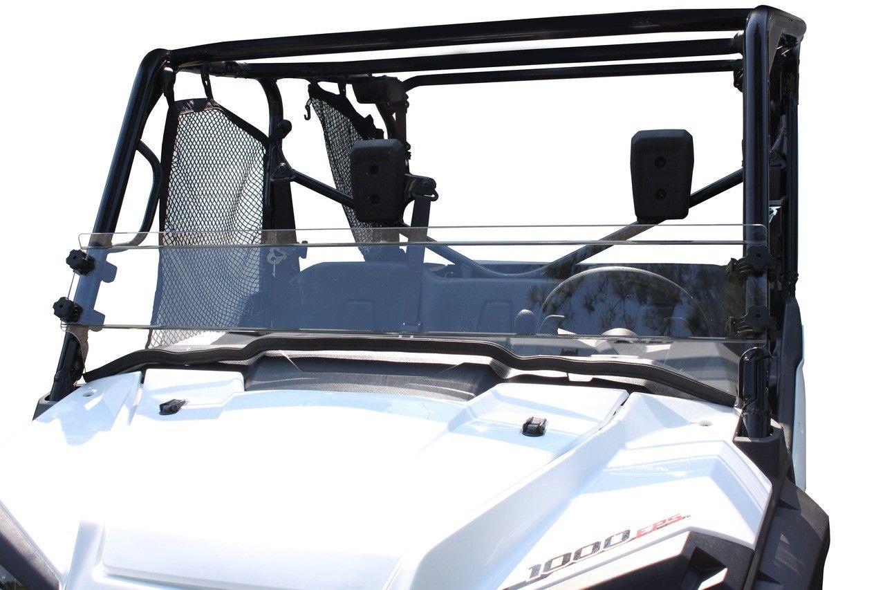Spike UTV Front Half Windshield Clear Honda Pioneer 1000