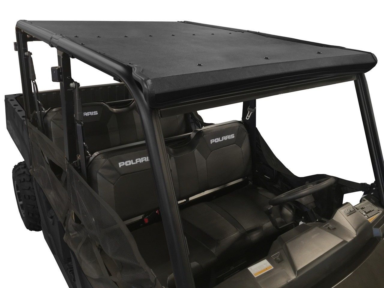 Polaris Ranger 800 Midsize 2013-2014 Black Polyethylene Hard Top Roof TWO PIECE