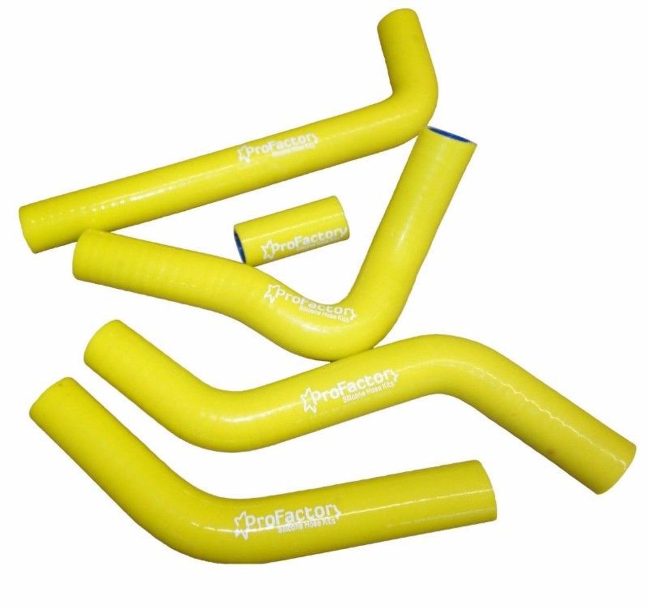 YELLOW Silicone radiator hose for SUZUKI RMZ450 RMZ 450 2005 05
