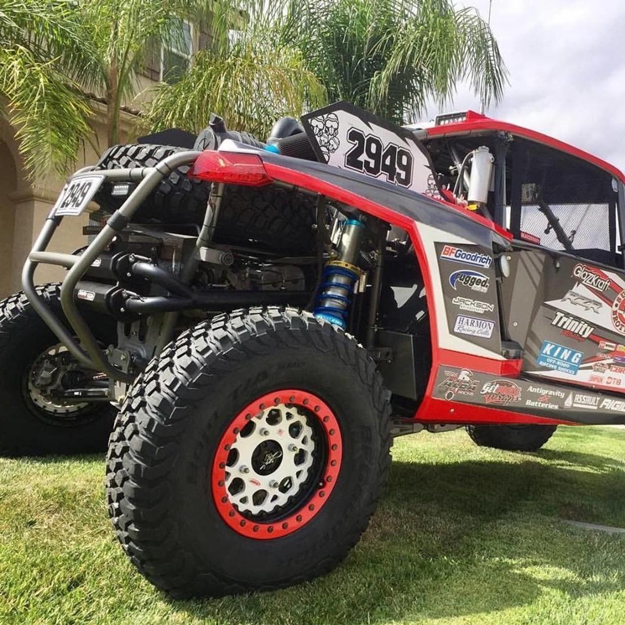 Trinity Exhaust Can-am Maverick X3 Dual Full Muffler System Cerakote  2017-2019