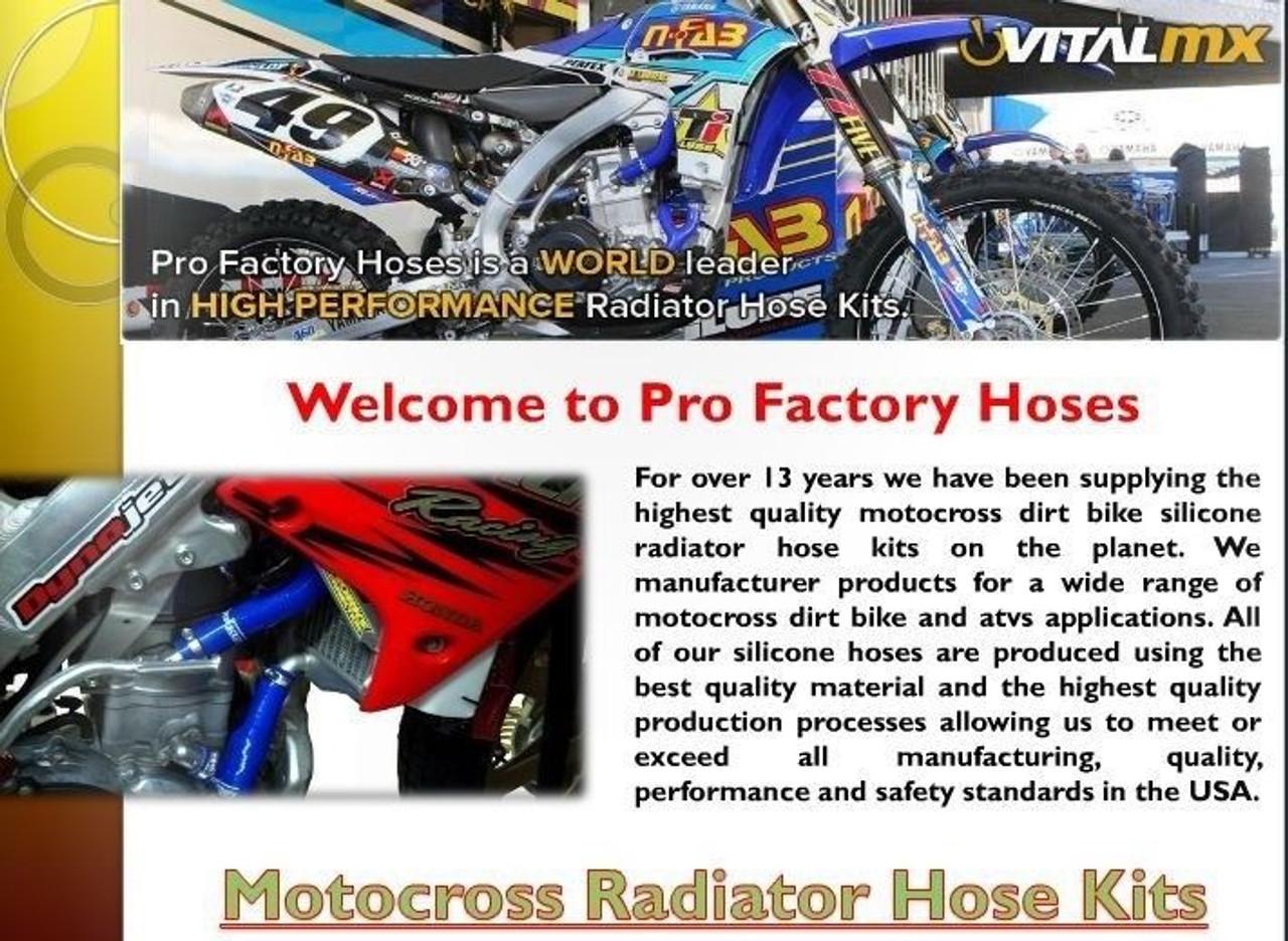 Silicone Radiator Hose ATV Yamaha YFZ450 YFZ 450 2004-2008 2005 2006 2007