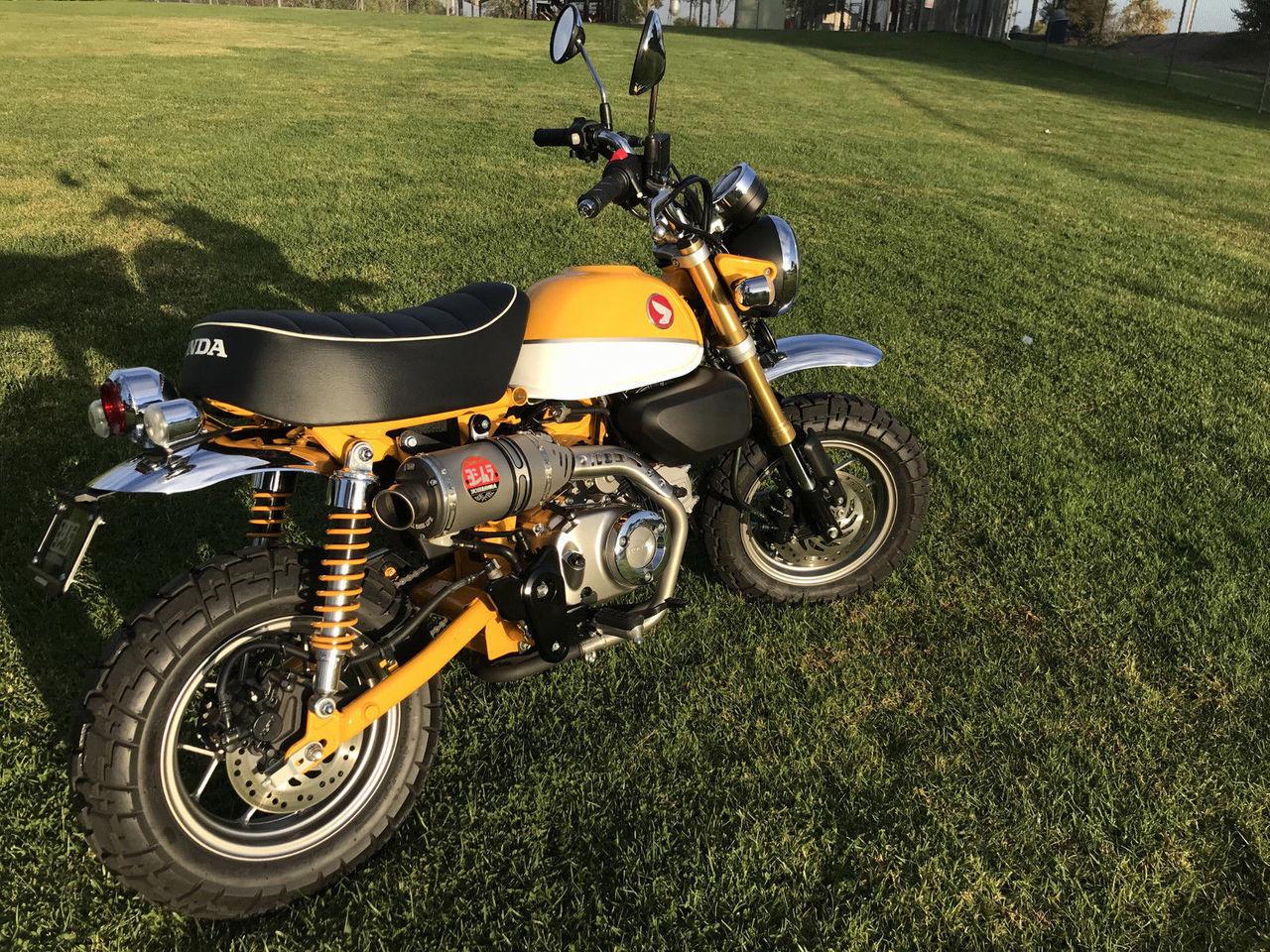 Yoshimura Exhaust Rs3 Slip On System Honda Monkey 125 12130b5500
