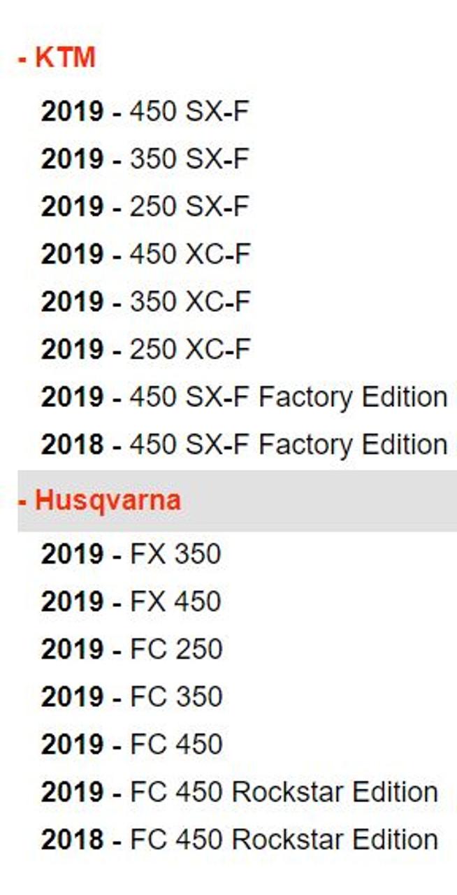 Pro Circuit T-6 Exhaust slip on Muffler KTM 250SXF 250XCF  FC250 2016 2017 2018