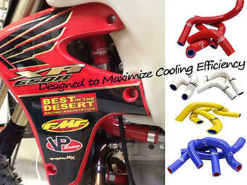 Crf450 Crf450r Radiator Hose Kit Pro Factory Hoses 02 03 04 Yellow