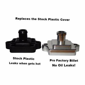 Pro Factory Billet Oil Valve Cover Breather Polaris Rzr 800 2008