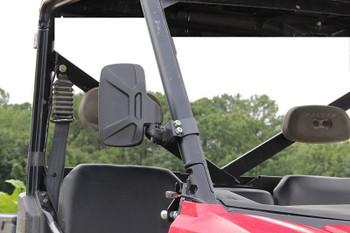 Seizmik Strike Side View Mirror Polaris Pro-Fit Clamps 18093